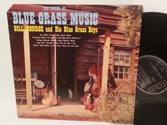 BILL MONROE AND HIS BLUE GRASS BOYS the father of blue grass music, NL 90008 - FOLK, FOLK ROCK, COUNTRY and folkish music! #LP Heads, #BetterOnVinyl, #Vinyl LP's