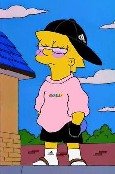 Simpson Wallpaper Iphone, Cartoon Wallpaper Iphone, Trippy Wallpaper, Cute Cartoon Wallpapers, Cute Wallpaper Backgrounds, Hipster Wallpaper, Simpsons Drawings, Simpsons Art, Cartoon Kunst