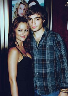 absolute fucking perfection [Ed Westwick & Leighton Meester]