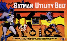 The prize of all Batman toys! Original 1966 Batman Utility Belt made by IDEAL! Mint in box. Im Batman, Batman Robin, All Batmans, Toys Land, The Way I Feel, Western World, Classic Tv, Dark Knight, Find Art