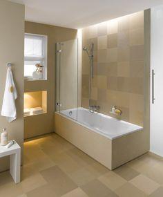 Vasca e doccia insieme | Bath, Bathroom laundry and Interiors