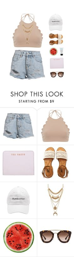 BE ALRIGHT // ARIANA GRANDE by janettetang on Polyvore featuring Marysia Swim, Aéropostale, Ted Baker, Charlotte Russe, Prada and philosophy