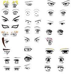 Anime - Eyes - Practice - Digital Sketching
