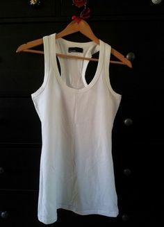 Kaufe meinen Artikel bei #Kleiderkreisel http://www.kleiderkreisel.de/damenmode/tanktops/105812552-only-vero-moda-top-shirt-weiss-38