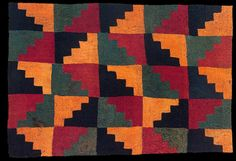 Textile with steps Nazca