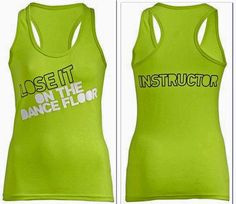 ZUMBA FITNESS Dance! ~ INSTRUCTOR RacerBack Top Shirt Tank  fr. Convention S M L #ZUMBAZUMBAFITNESS #TopShirtRacerback