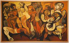 Oswaldo Guayasamin--Love it!!!