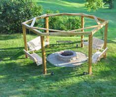 When I first saw one of these hanging fire pits, sometimes called a porch-swing fire-pit, I just knew I had to build one. I had a large level area in my lower back...