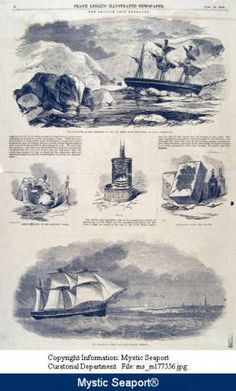 Discovery and recovery in the Arctic of the British ship Resolute by New London whalers. :: Connecticut History Online  http://cthistoryonline.org/utils/ajaxhelper/?CISOROOT=cho=8534=2=70=283=469=0=0=new%20london=0