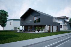 Návrh domu MAC - NED ATELIER New Builds, Home Fashion, Home Renovation, Home Deco, Modern Farmhouse, Interior Architecture, Building A House, New Homes, Home And Garden