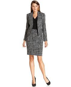 Black dress textured colored blazer or suit jacket | Work-it ...