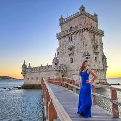 =================================  The beauty of Portugal... and its people     La belleza de Portugal... y su gente -------------------------------------------------  Belém Tower   Torre de Belém Lisbon (PORTUGAL) -------------------------------------------------  Not far from the Hieronymites Monastery on the banks of the Tagus River Francisco de Arruda constructed the famous Tower of Belém around 1514 also known as the Tower of St Vincent patron of the city of Lisbon which commemorated…