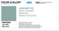 APPart – Mobile Art – Pantone Color of the Day – 'Blue Surf' – TheAppWhisperer
