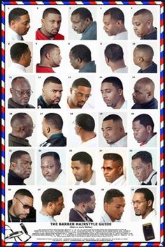 Barber Guide : 1000+ images about Men hair style. on Pinterest Black men haircuts ...
