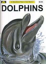 Dolphins - Coloring Book