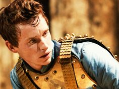 Eddie Redmayne as Richard II at the Donmar Warehouse. I think I'd live under the stairs at Donmar if I could