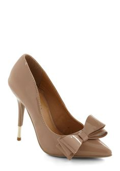 To Goldly Bow Heel, #ModCloth
