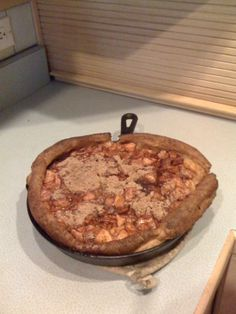 Found this online while searching for TOPH recipes. Fabulous recipe from The Original Pancake House! The Apple Pancake contains eggs, flour, milk, sugar, cinnamon, vanilla, butter and lots of apples. It takes about 30 minutes to bake in an iron skillet and is served all puffed up and steaming hot.  The Apple Pancake really isn't much like a pancake at all. It's more a like a souffle or really, really moist bread pudding. The only way to truly appreciate it is to try one yourself.