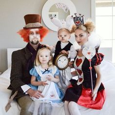 """""""Imagination is the only weapon in the war against reality"""" Lewis Carroll - Alice in Wonderland. ❤️⚜️♣️♦️⏱Happy Halloween friends and thank you so much for all of the sweet love and well wishes on our baby news"""