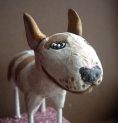 CUSTOMIZE YOUR DOGPAPER CLAY SCULPTURE by indigotwin on Etsy