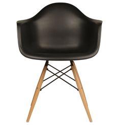 Replica Eames DAW Armchair - Plastic by Charles and Ray Eames - Matt Blatt