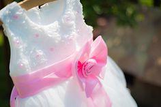 Šaty pre malú družičku Princess Peach, Character, Lettering