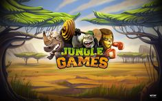 Log in to #play  - Jungle Games video slot