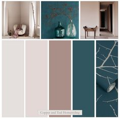 I have found the perfect blueish teal colour - combined it with other Farrow and Ball colours - and so pleased with this colour palette. please get in touch for details. Pink Dining Rooms, Teal Rooms, Beige Living Rooms, Dining Room Colors, Living Room Color Schemes, Blue Color Schemes, Blue And Pink Living Room, Teal And Pink, Bedroom Color Combination