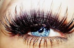Obsessed with fake eyelashes these days. A skill I am determined to master!