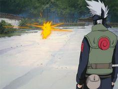 *explosion* Kakashi: Eh, I've seen better.