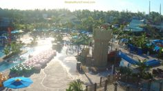 Part of the waterpark