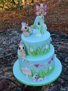 The Garden Party - by SugarAllure @ CakesDecor.com - cake decorating website