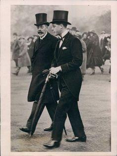 prince edward and king george v