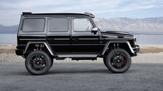 Brabus-tuned Mercedes G500 4x4 is an over-powered off-roader