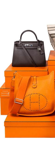 Hermes Handbags. They are beautiful, but I would never spend that kind of money on a bag.