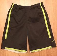 the latest 8ff3e fb79e NIKE DRI FIT BOYS ATHLETIC SHORTS SIZE 7 BLACK EUC  Nike