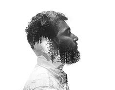 "Check out new work on my @Behance portfolio: ""Double exposure portrait"" http://be.net/gallery/53000477/Double-exposure-portrait"