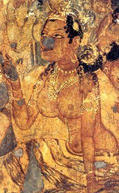 cave painting at ellora