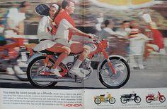 1965 Vintage Honda CB 160 Motorcycle Ad A Ball To Ride