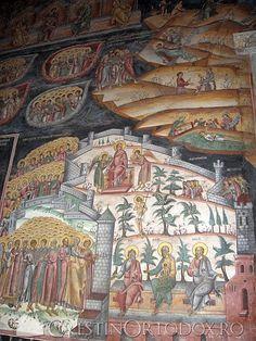 Manastirea Hurezi - Horezu End Of Days, Romania, Painting, Art, Art Background, Painting Art, Kunst, Paintings, Performing Arts