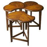 Found it at Wayfair - Loft 3 Piece Nesting Coffee Table Set