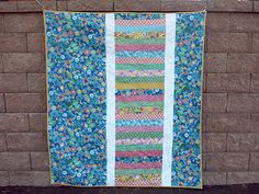 Casey York // Wisteria Quilt Back // Spring Bloom Fabric // Bella Caronia for Windham Fabrics