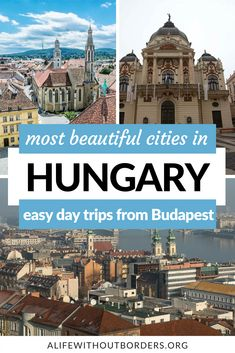 15 beautiful, lesser-known towns and cities to visit in Hungary. Go beyond Budapest and add a few of these unique cities to your Hungary travel itinerary. #Hungary #Szeged #Europe #ALWB | Cities of Hungary | Towns in Hungary | Hungary travel Places In Europe, Best Places To Travel, Best Cities, Europe Travel Tips, European Travel, Hungary Travel, Cruise Destinations, Most Beautiful Cities, World Heritage Sites