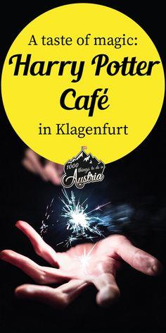 Hier können Harry Potter Fans im zauberhaften Ambiente in die Fußstapfen der Zauberer treten. Klagenfurt, Harry Potter, Book Cafe, Innsbruck, Sailing, Books, Outdoor, Phoenix, Wanderlust