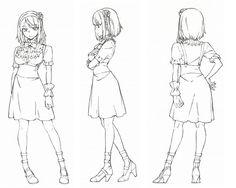 Dagashi Kashi anime character design Hotaru Shidare