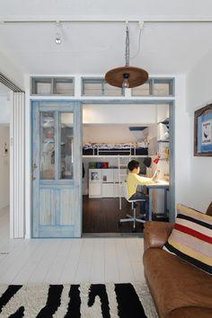 4.5畳の部屋、使いこなせていますか?物置や洗濯物を干すスペースになっているのをよく見ますが、それはとてももったいないです。4.5畳は確かに狭いけれど、アイデア次第で幾通りもの使い方が可能ですね。4.5畳の部屋のレイアウト事例をみてみましょう。