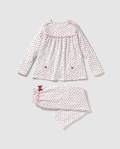 Baby Girl Dress Patterns, Dresses Kids Girl, Little Girl Outfits, Kids Outfits Girls, Girls Party Dress, Baby Dress, Kids Nightwear, Cute Sleepwear, Girls Sleepwear