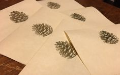 Pinecone All-purpose Greeting Card Set by PineconesCountryHome on Etsy https://www.etsy.com/listing/505766733/pinecone-all-purpose-greeting-card-set