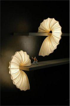 SameSame Shelf Lamp from Aqua Creations