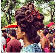 Ladene Clark #Hairnspiration